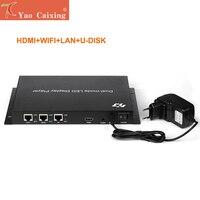 HD A603 отправки box контроллер с hdmi wifi rj45 usb асинхронный управления карты p2 p2.5 p3 p4 p5 p6 p8 p10 rgb светодио дный экран