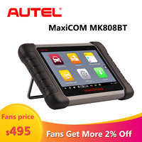 Autel MaxiCOM MK808BT OBD2 Scanner Diagnostic Auto Tool Automotive Code Reader MK808 BT OBD 2 Key Programmer Auto ABS SRS System