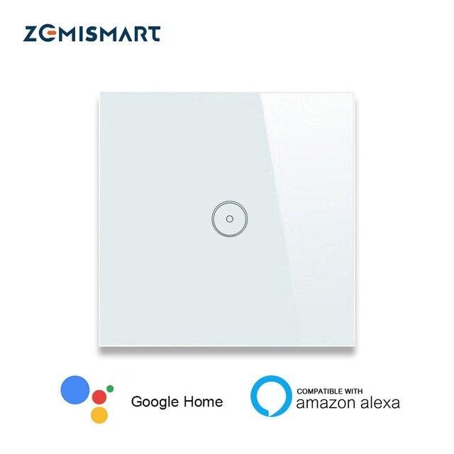 Smart Home EU 1 Gang 2 Gang 3 Gang Wifi Wall Switch Alexa Google Home  tuya APP Remote Control Light Panel