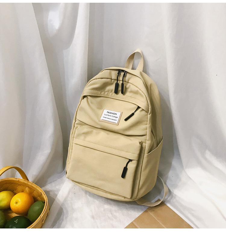 HTB18c.4cUCF3KVjSZJnq6znHFXaE 2019 New Backpack Women Backpack Fashion Women Shoulder nylon bag school bagpack for teenage girls mochila mujer