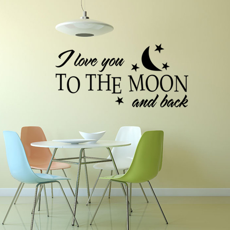 Aliexpress.com : Buy Romantic I LOVE YOU Wall Decals Quotes Decorations Living  Room Sticker Bedroom Wall Stickers Couples Room Decoration From Reliable  Room ... Part 46