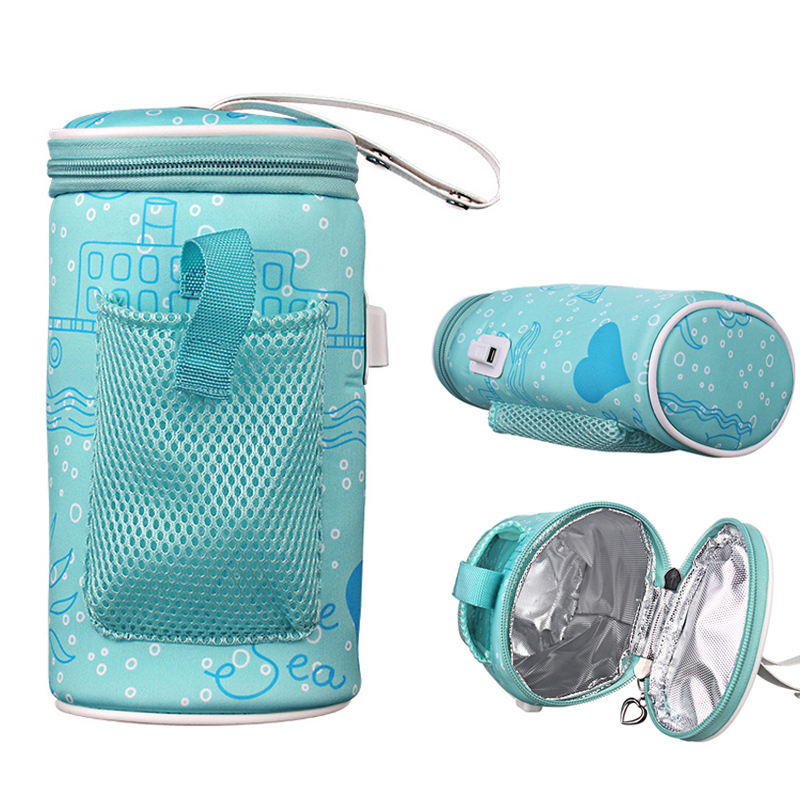 Usb Milk Warmer Insulated Bag Portable Travel Cup Warmer
