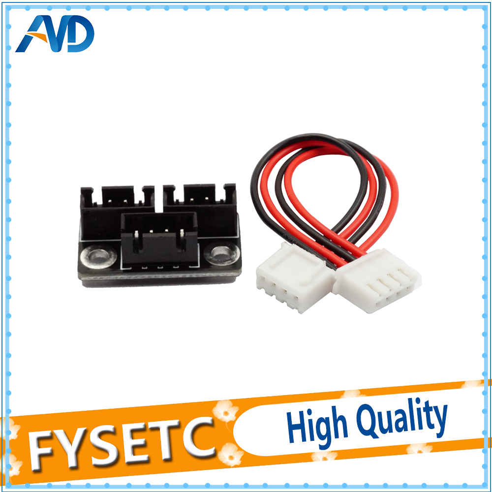 2Pcs 3D Printer Parts Motor Parallel Module for Double Z Axis Dual Z Motors for Lerdge 3D Printer Bo
