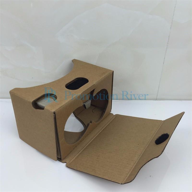 Event Supplies Logo Custom Google Cardboard V 2.0 Custom printing Virtual Reality Headset VR Viewer for up to 6 inch phone 10