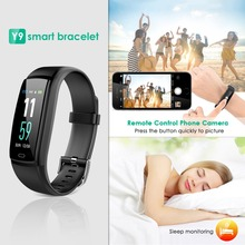 Y9 Smart Watch Sports Fitness Activity Heart Rate Tracker Blood Pressure wristband IP67Waterproof band Pedometer for IOS Android цена и фото