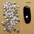 50 unids colorido AB Metal 3D redondo mujeres Nail Art brillos Diy decoraciones para uñas herramientas PJ280