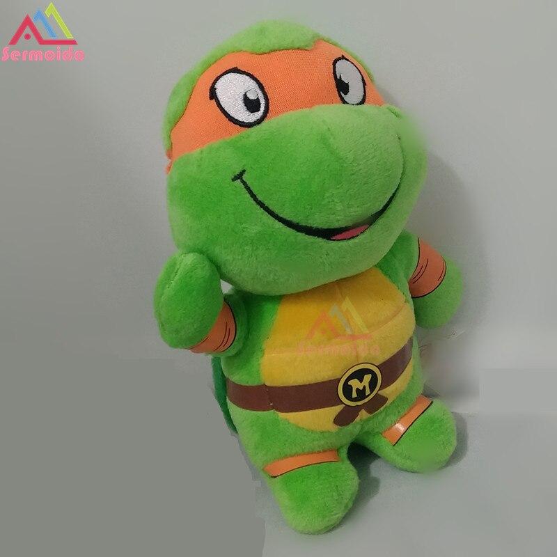 Sermoido Ty Beanie Боос 6 Slowpoke Зеленый черепаха плюшевые большой Средства ухода для век Beanie Babies плюшевые Коллекционная Мягкая кукла игрушка dbp20