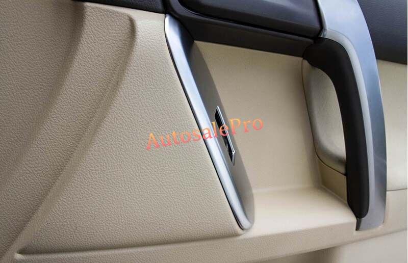 For Toyota Prado Fj150 2011-2013 Chrome interior door cover armrest trim 4X