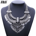 Antique vintage coins statement bib necklaces & Pendants 2017 NEW Hot sale Ethnic BOHO chokers chains torques