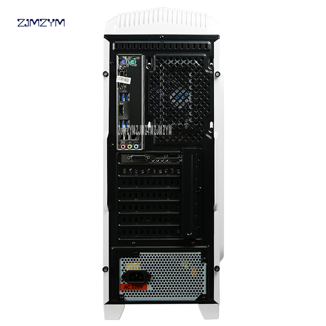 R5 Gaming PC Desktop Game Assembly Machine Motherboard 8G RAM Computer Case 4