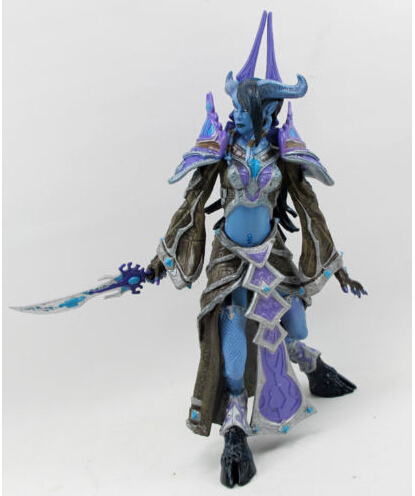 WOW WORLD SERIES 3 DRAENEI MAGE TAMUURA ACTION FIGURES TOY COLLECTION Anime Figure Da Collezione Model Toy 2