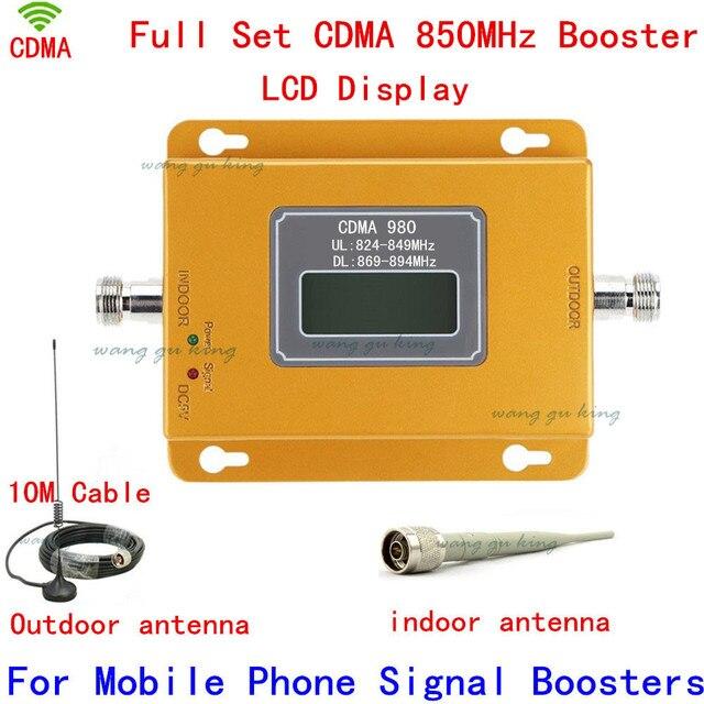 Дб LTE UMTS GSM CDMA 850 МГц 2 Г 3 Г 4 Г Беспроводной Мобильный телефон Repeater Усилитель Сигнала Сигнал Повторителя Усилитель + Кабель + Антенна