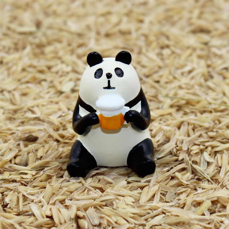 Decole Cat Lucky Cat панда Пингвин миниатюрные фигурки Япония Zakka домашние украшения в форме животных садовые полимерные ремесленные игрушки украшения