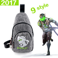 2017 New Anime Messenger Bags Famous Brand Canva School Casual Shoulder Bag Women And Men Fashion