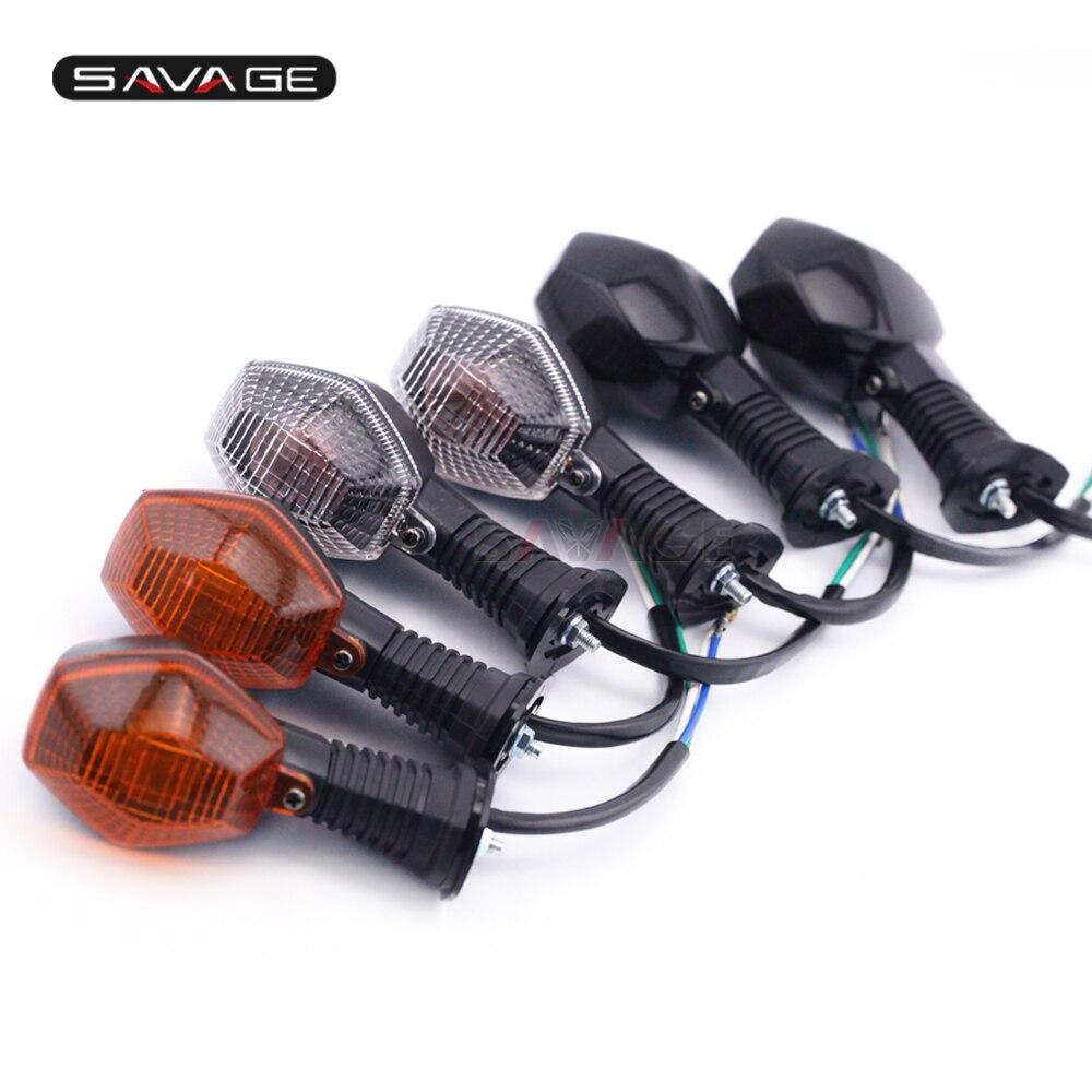 2 X LED Motorcycle Turn Signal INDICATOR FOR SUZUKI GSX-R 1000 750 650 K1 K4 NEW