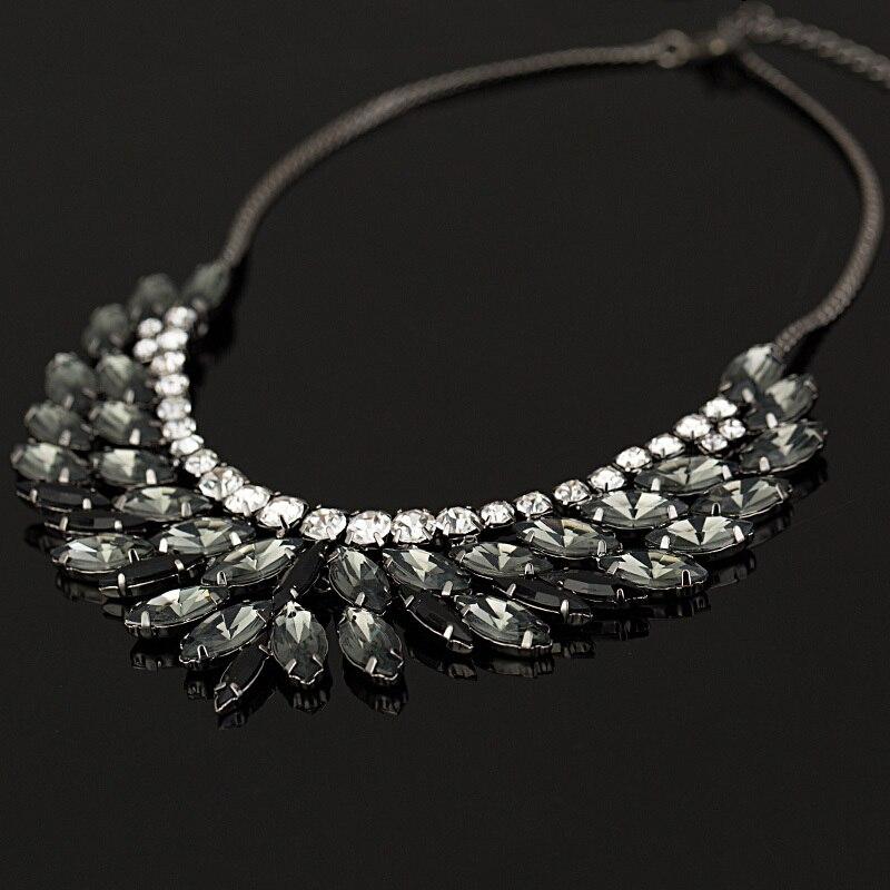 2016 New Brand luxury Crystal Necklaces & Pendants eyes Resis