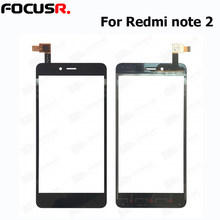 New Outer Top Screen Lens Front Glass For Xiaomi note 2 LCD Screen Replacement Touch Panel touch screen repair parts(China)