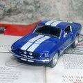 Новый Kingsmart 1/38 Масштаб Классический 1967 Ford Shelby GT-500 Литья Под Давлением Металл Вытяните Назад Модель Автомобиля Игрушка Для Подарка/дети/Коллекция