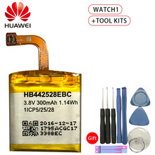 Original Replacement Phone Battery For Huawei Watch1 HB442528EBC Authenic Rechargeable Battery 300mAh +Tool Kits original replacement battery huawei hb442528ebc for huawei watch1 300mah