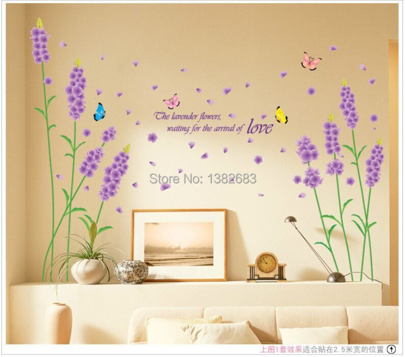 3D Wall Stickers Removing Bedroom Living Room Sofa Marriage Room ...