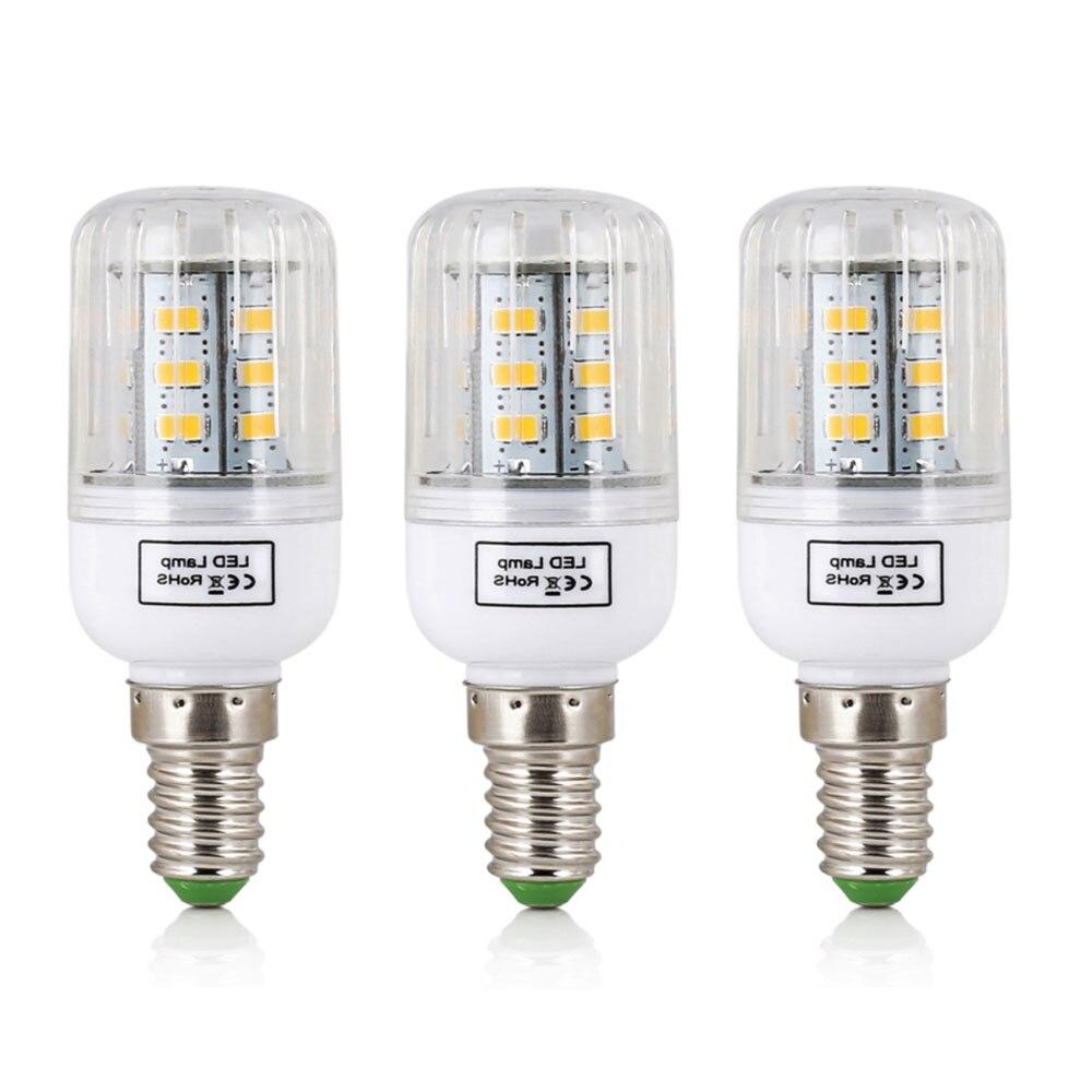 Lampada led bulb e14 led lamp 5730 smd led lights corn for Lampada led e14