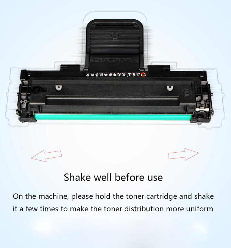 KCMYTONER Compatible Toner Cartridge Replacement for Samsung MLT-D108S D108S Work with ML-2240 ML-1640 Series Laser Printer Black 1 Pack