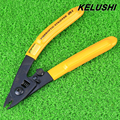 KELUSHI Miller CFS-3 Três-port Alicates Wire Stripper De Fibra Óptica Fibra Óptica para FTTH