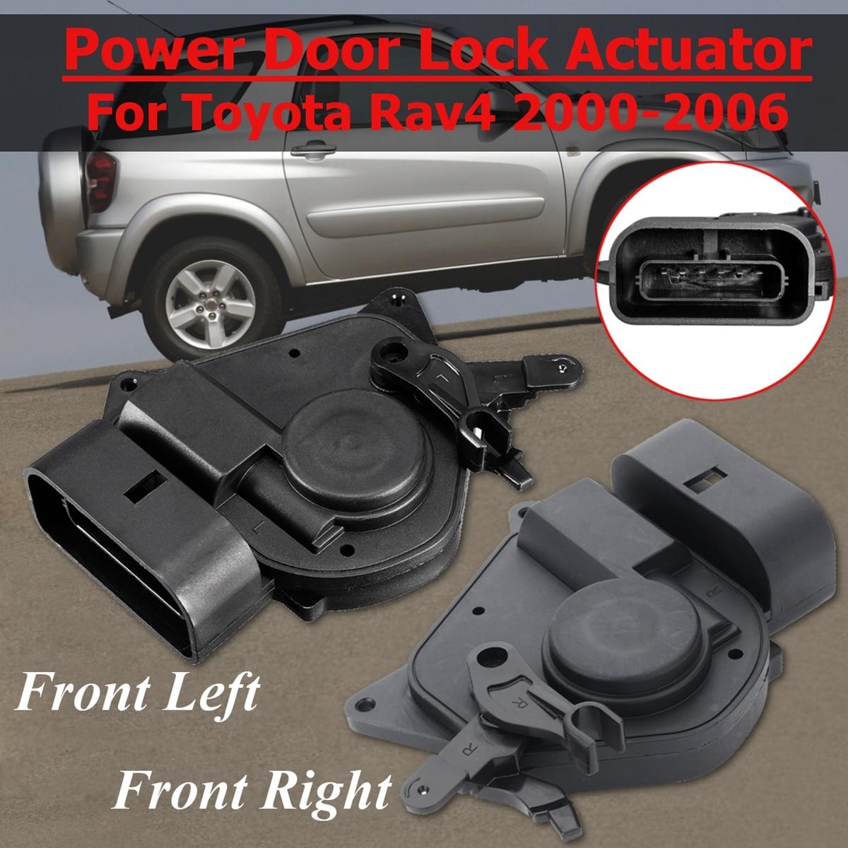 Carros frente esquerda e direita para toyota rav4, para modelos toyota rav4 2000 - 2006 6912042080 6911042120 69110-42120 746-603 atuador da fechadura da porta