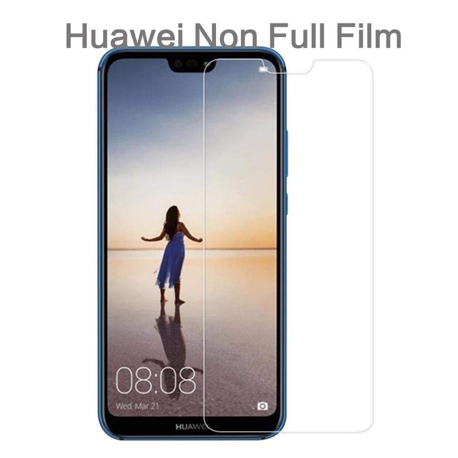 9H Half Glass Flim for Huawei P30 P20 Pro Mate20 Lite Screen Protector Honor 10 8X V20 7X Tempered