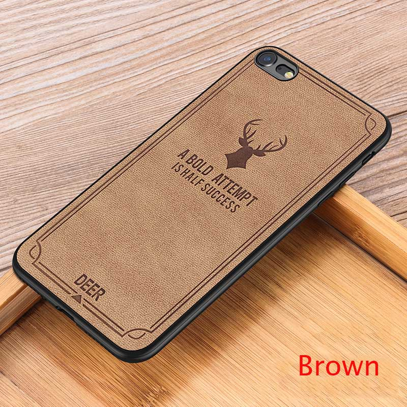 Suntaiho Cloth Texture Soft TPU case for iphone XS MAX case 7 Case Canvas Silicone Phone Cases for iphone XS 6 6S 7 8 Plus XR