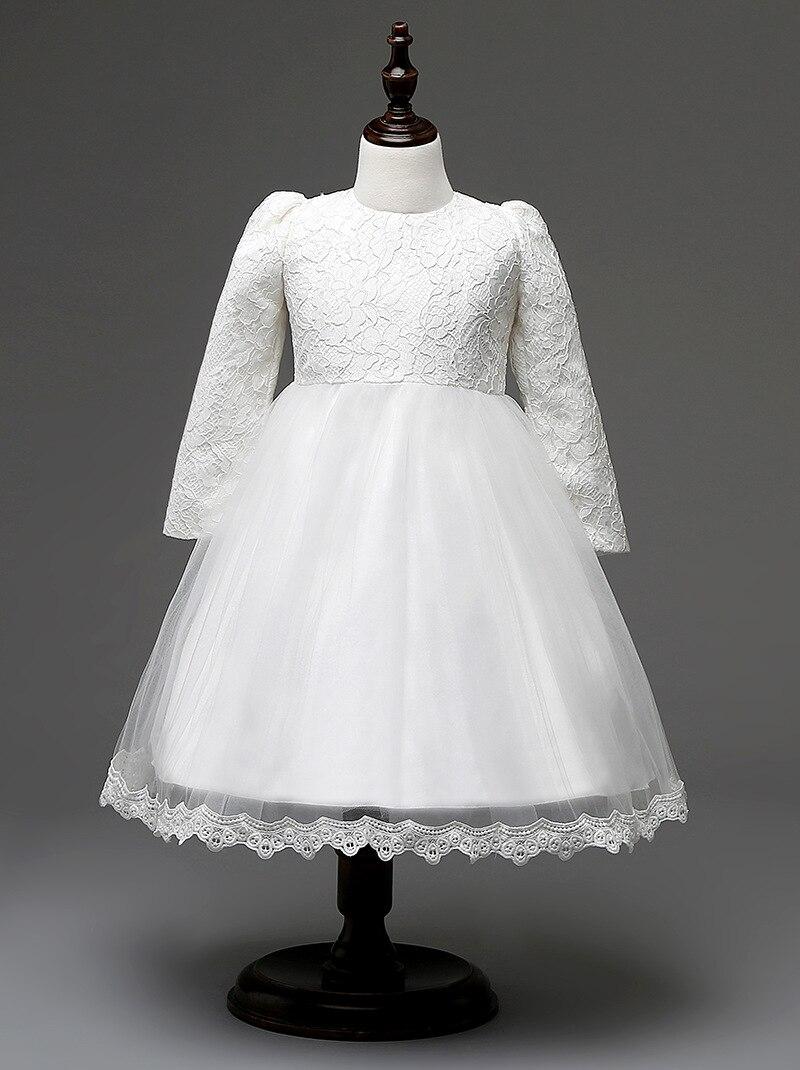 16b137514c92b Bébé Filles dentelle robe rose blanc enfants vêtements marques partie robe  fille arc 4 T 1 ans enfant formelle robe dans Robes de Mère et Enfants sur  ...