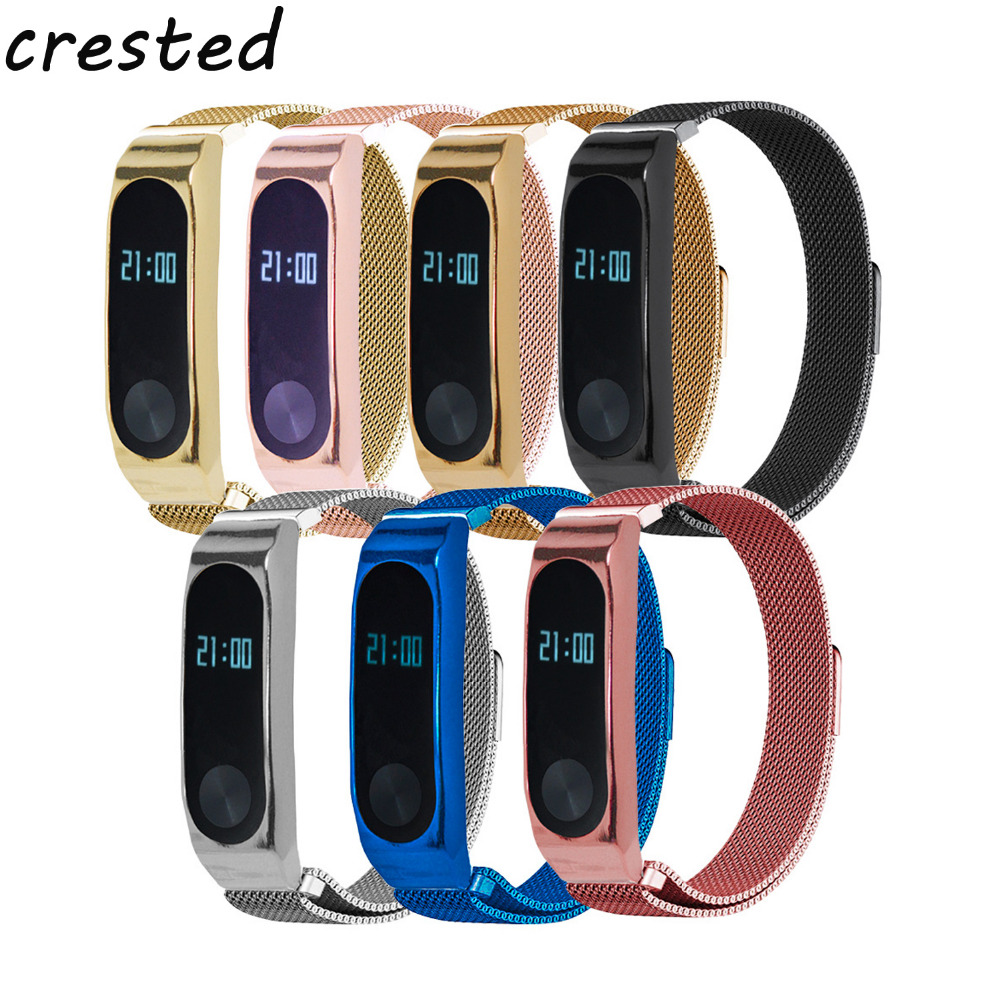 Milanese loop Bracelet for xiaomi mi band 2 strap stainless steel metal wrist band for xiaomi mi band2 Replacement wristband milanese loop bracelet for xiaomi mi band 2 strap stainless steel metal wrist band for xiaomi mi band2 replacement wristband