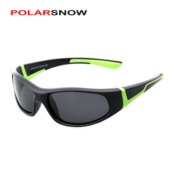 Polarized Kids Fashion Sunglasses 2019 Boys Girls Goggle UV400 Sun Glasses Top Quality TR90 Frame Children Eyewear Accessories