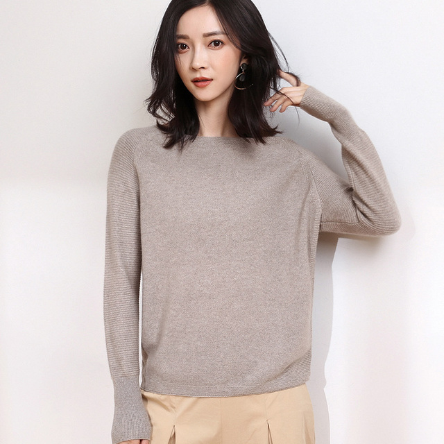 New Design Women Pullover Style Knitting Patterns Cashmere Sweaters