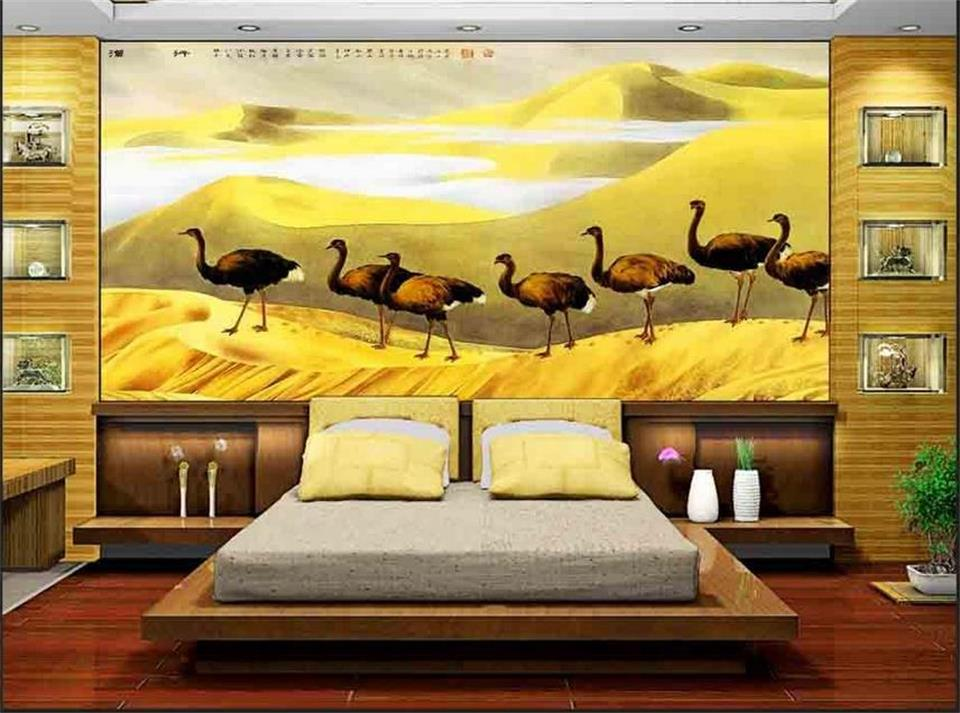 Online get cheap sahara desert alibaba group for Desert wall mural
