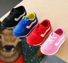 Crianças Sapatos Meninos E Meninas Calçados Esportivos Casuais Crianças  Respiráveis Das Sapatilhas Sapatas de ... 007ea868229