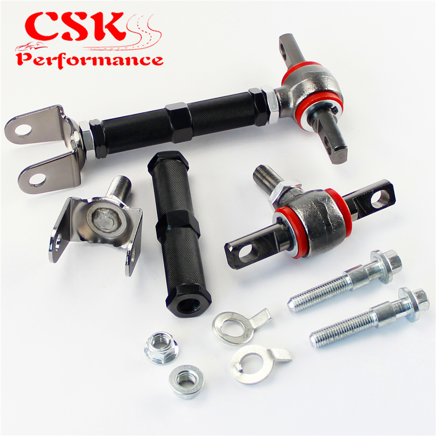 2 шт. Задний Развал Комплект для 01-05 Honda Civic EM EP3/02-06 Acura RSX DC5+ фитинг BK