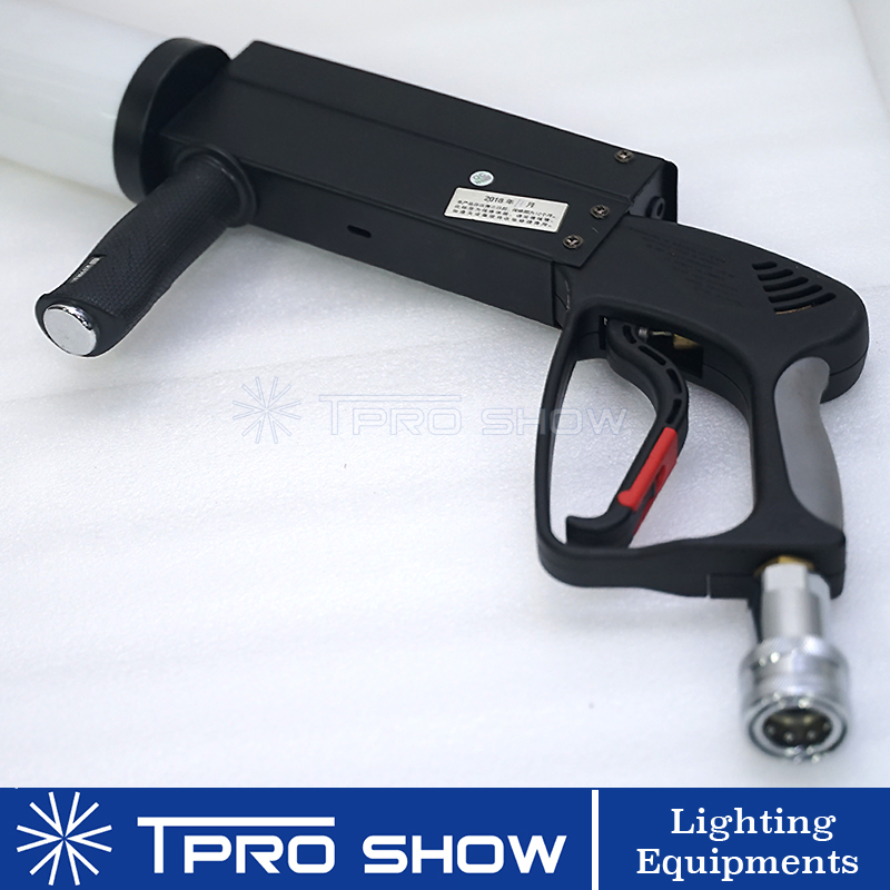 Image 4 - Mini CO2 Gun Hand Held LED Pistola Co2 Cryo Machine RGB Colorful CO2 Jet For Singer DJ Stage With High Pressure Gas Hose-in Stage Lighting Effect from Lights & Lighting