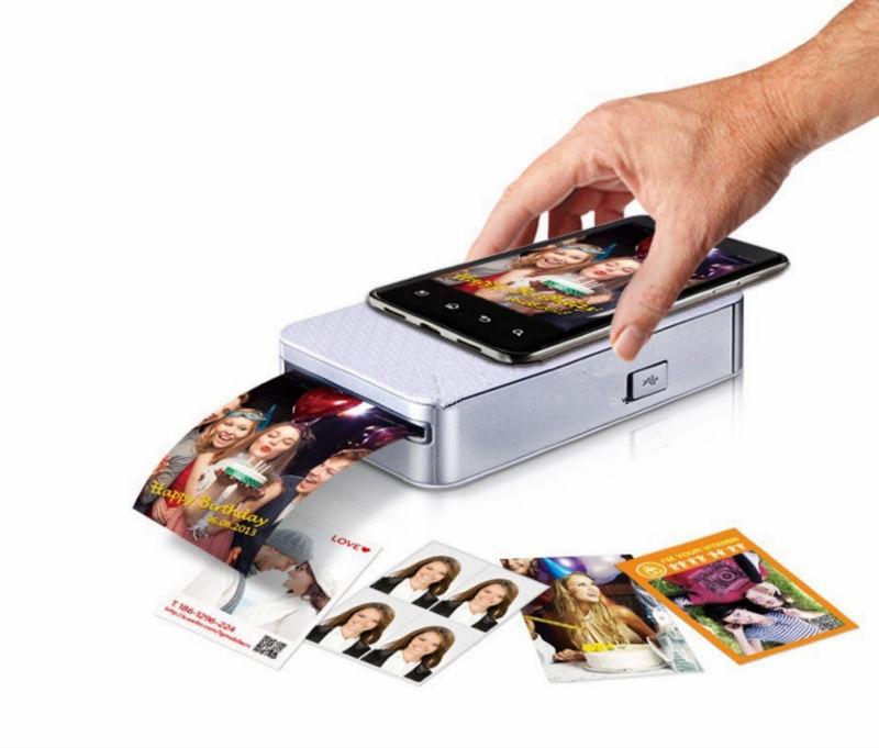 Pocket With Printer (Polaroid Mobile / Cell Phone Photo