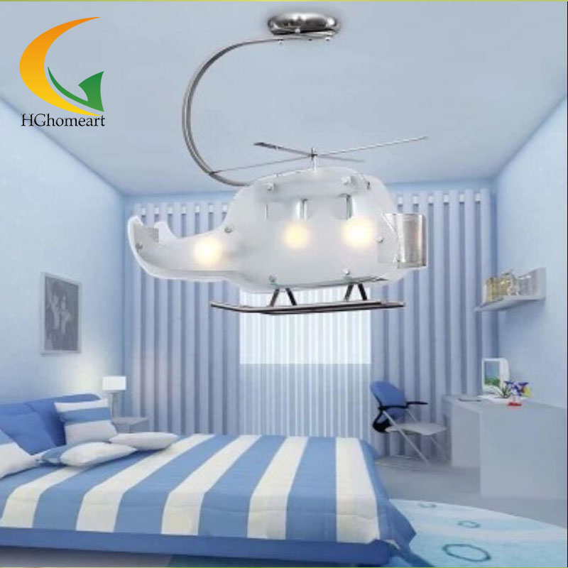 Kids room led lamps lamps creative boy bedroom for Lighting for kids room