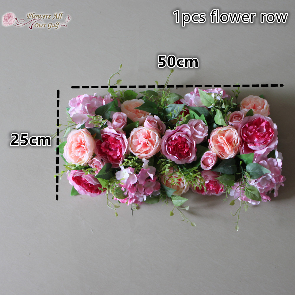Flower all over gulf artificial flower wall for backdrop wedding flower all over gulf artificial flower wall for backdrop wedding decoration pink david austin rose green leaves grass in artificial dried flowers from mightylinksfo