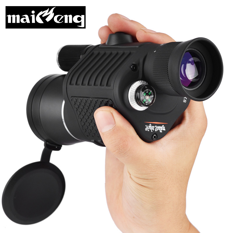Maifeng Multi-function Night Vision 8X40 HD Monocular with Flashlight Powerful for Hunting professional telescope Binoculars цена и фото