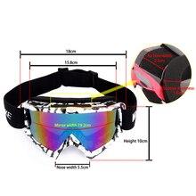 High Quality WOLFBIKE Ski Goggles UV400 Protection Ski Snowboarding Skate Goggles Glasses Men Women Sun Glasses Eyewear