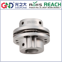 Wholesale high rigidity GSTB 8 setscrew step type single diaphragm keyway series shaft coupling недорого