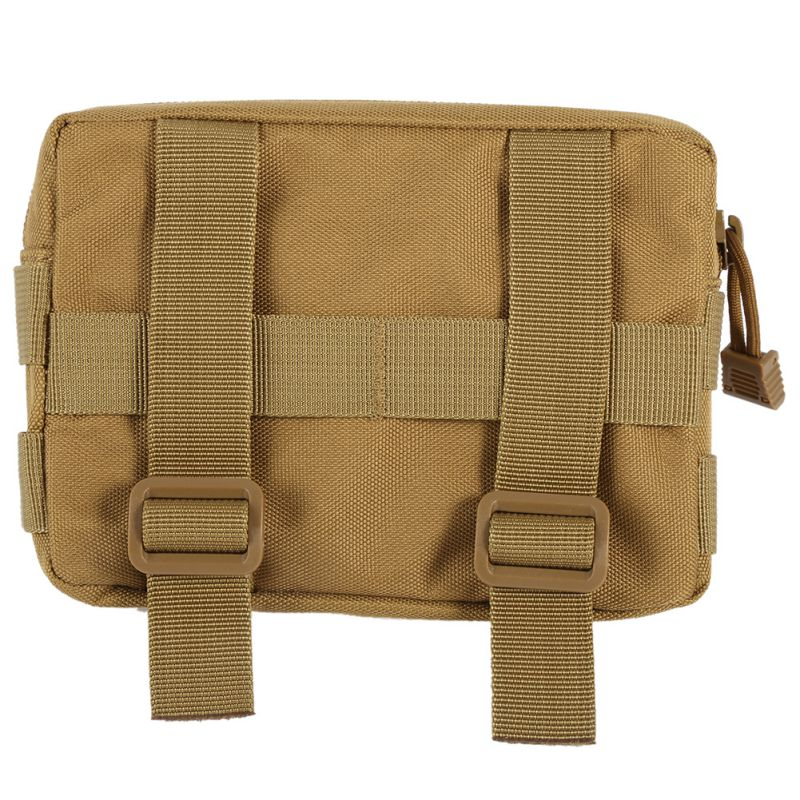 600D Nylon Airsoft Tactical Military Modular MOLLE Small Utility Pouch EDC Bag Waterproof Mini Bag Open Gear Tools Pouch