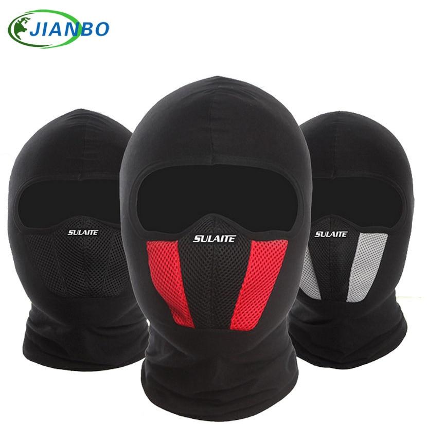 Masque Coupe-Vent Coton Plein Visage Cou Garde Masques Ninja Coiffe Chapeau Équitation Randonnée Sports de Plein Air Cyclisme Masques