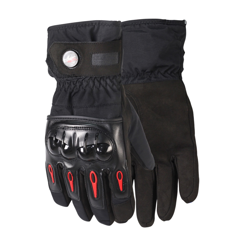 Guantes de Invierno c/álidos para Motocicleta Pantalla t/áctil Guantes de Invierno Impermeables a Prueba de Viento para Hombres Guantes Moto Luvas/-a20-M