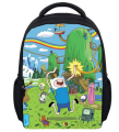 13 Inch Kids Backpack Adventure Time Children School Bags Boys Girls Daily Backpacks Students Bag Mochila Gift