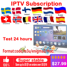 IPTV subscription Android TV Box + European Sweden Arabic French Spain France Belgium Italy Germany UK IPTV for smart tv box цена в Москве и Питере