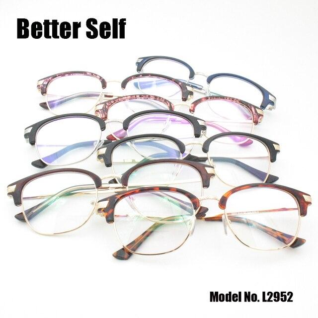 2ee0e6f7f2 Better Self L2952 Metal Eyeglasses Women Round Prescription Frame Retro Optical  Glasses